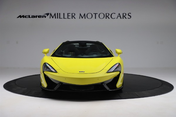 New 2019 McLaren 570S SPIDER Convertible for sale $227,660 at Alfa Romeo of Greenwich in Greenwich CT 06830 8