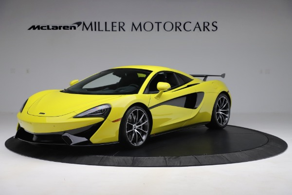 New 2019 McLaren 570S SPIDER Convertible for sale $227,660 at Alfa Romeo of Greenwich in Greenwich CT 06830 9