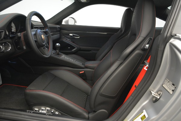 Used 2018 Porsche 911 GT3 for sale Sold at Alfa Romeo of Greenwich in Greenwich CT 06830 14