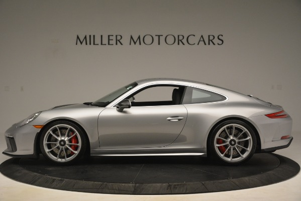 Used 2018 Porsche 911 GT3 for sale Sold at Alfa Romeo of Greenwich in Greenwich CT 06830 3