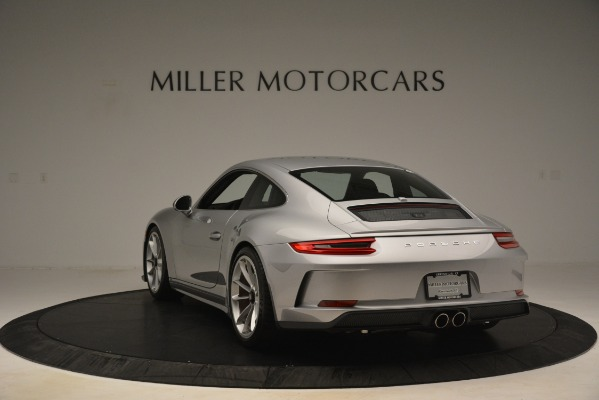 Used 2018 Porsche 911 GT3 for sale Sold at Alfa Romeo of Greenwich in Greenwich CT 06830 5