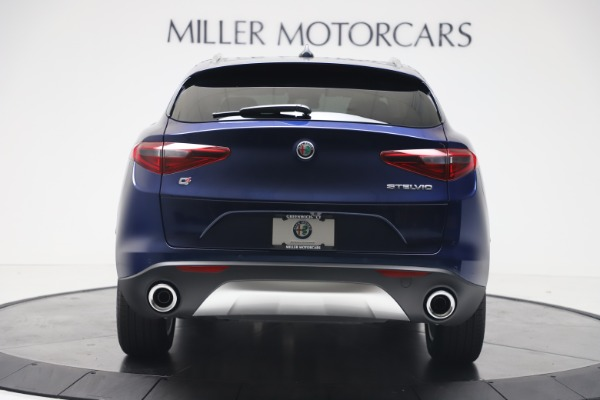 New 2019 Alfa Romeo Stelvio Ti Lusso Q4 for sale Sold at Alfa Romeo of Greenwich in Greenwich CT 06830 6