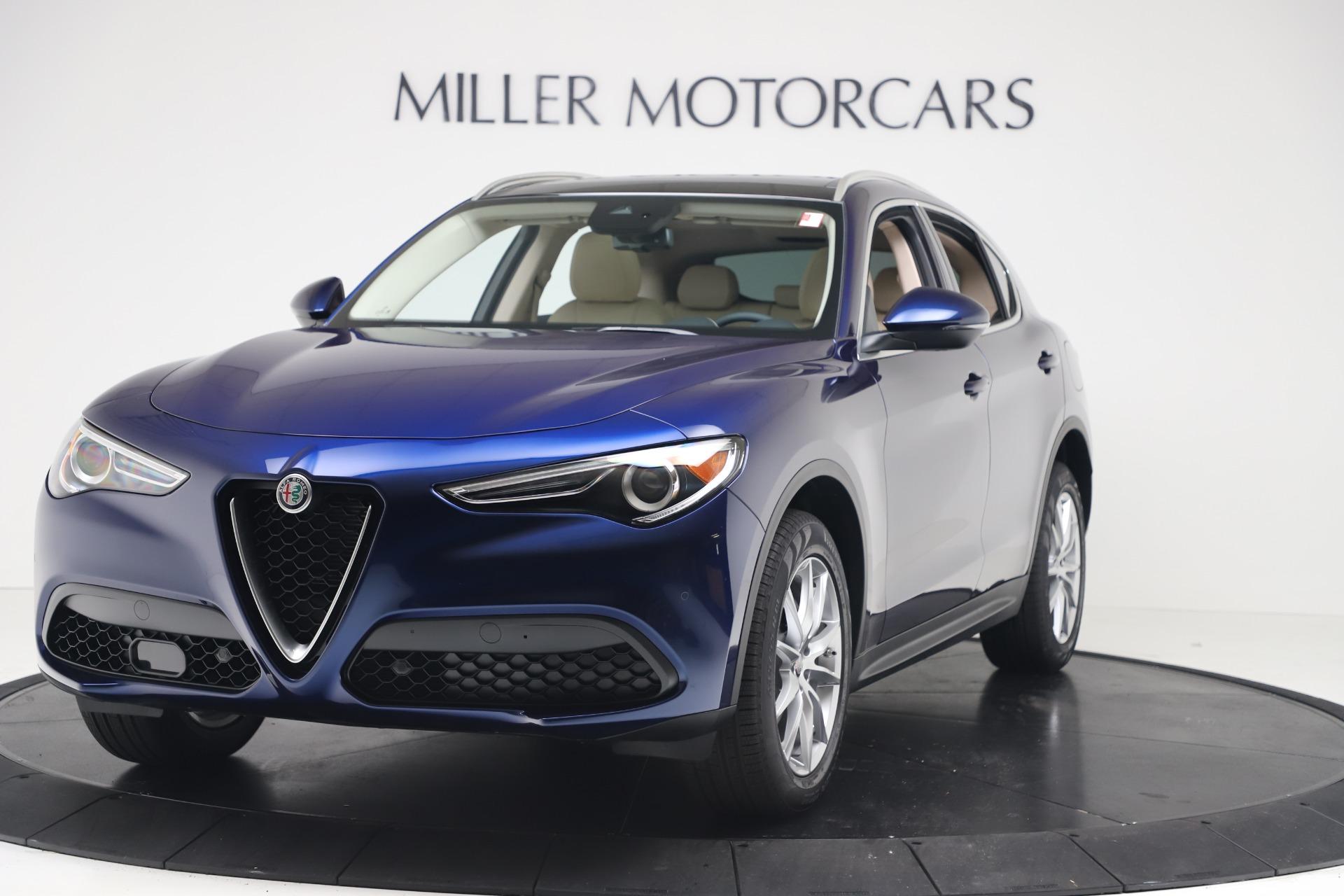 New 2019 Alfa Romeo Stelvio Ti Lusso Q4 for sale Sold at Alfa Romeo of Greenwich in Greenwich CT 06830 1