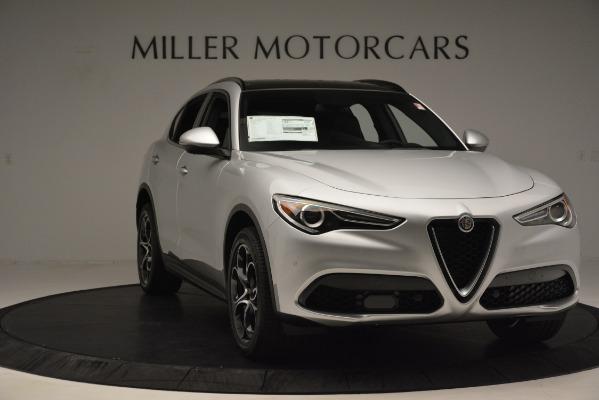 New 2019 Alfa Romeo Stelvio Ti Sport Q4 for sale Sold at Alfa Romeo of Greenwich in Greenwich CT 06830 11
