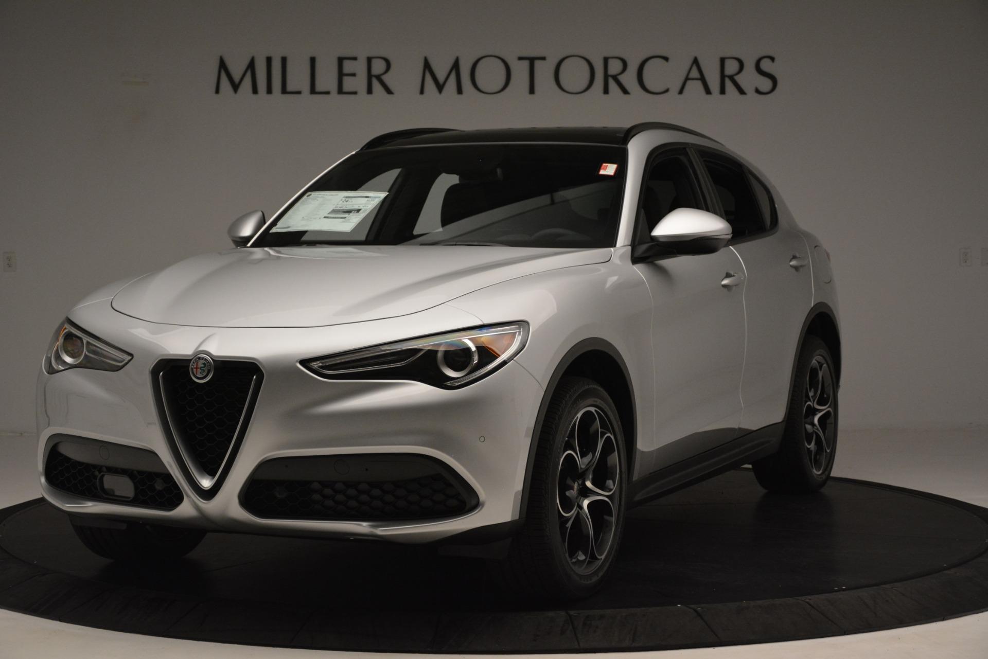 New 2019 Alfa Romeo Stelvio Ti Sport Q4 for sale Sold at Alfa Romeo of Greenwich in Greenwich CT 06830 1