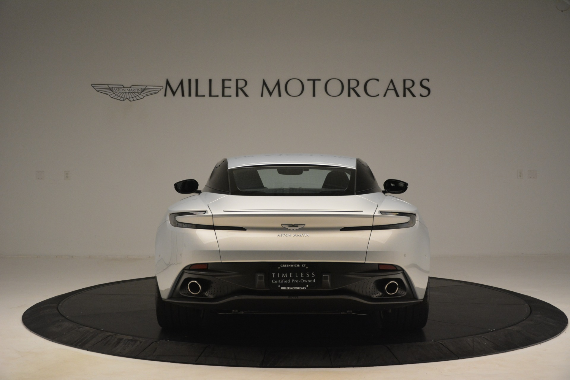 Pre Owned 2018 Aston Martin Db11 V12 Coupe For Sale Special Pricing Alfa Romeo Of Greenwich Stock 7588