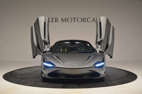 Used 2020 McLaren 720S Spider for sale Sold at Alfa Romeo of Greenwich in Greenwich CT 06830 12
