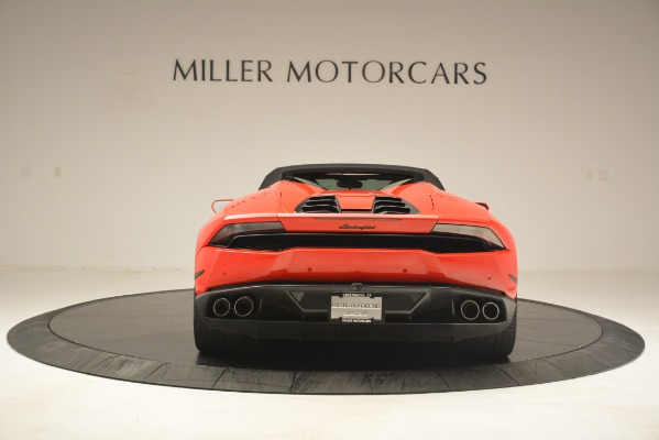 Used 2017 Lamborghini Huracan LP 610-4 Spyder for sale Sold at Alfa Romeo of Greenwich in Greenwich CT 06830 13