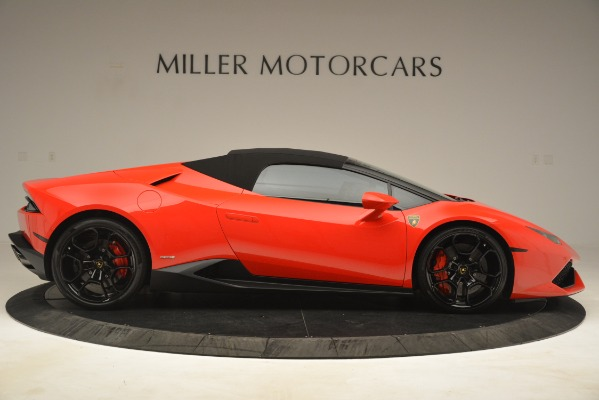 Used 2017 Lamborghini Huracan LP 610-4 Spyder for sale Sold at Alfa Romeo of Greenwich in Greenwich CT 06830 15