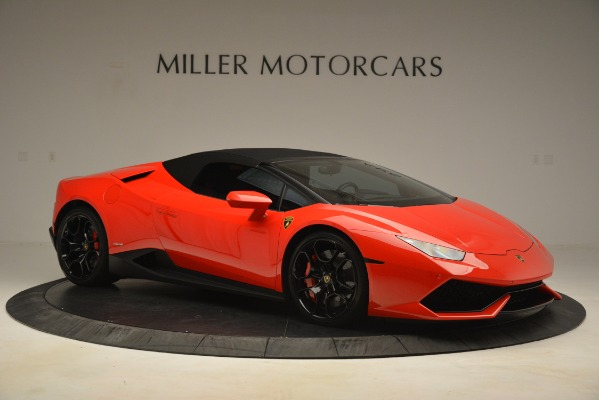 Used 2017 Lamborghini Huracan LP 610-4 Spyder for sale Sold at Alfa Romeo of Greenwich in Greenwich CT 06830 16