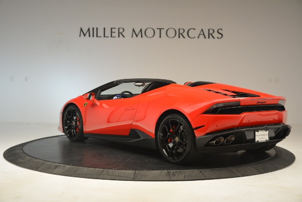 Used 2017 Lamborghini Huracan LP 610-4 Spyder for sale Sold at Alfa Romeo of Greenwich in Greenwich CT 06830 3