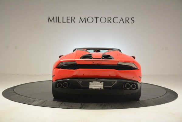 Used 2017 Lamborghini Huracan LP 610-4 Spyder for sale Sold at Alfa Romeo of Greenwich in Greenwich CT 06830 4