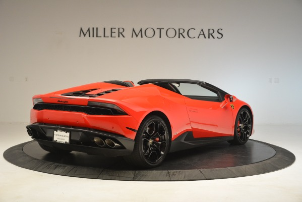 Used 2017 Lamborghini Huracan LP 610-4 Spyder for sale Sold at Alfa Romeo of Greenwich in Greenwich CT 06830 5