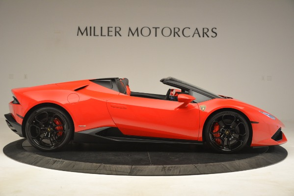 Used 2017 Lamborghini Huracan LP 610-4 Spyder for sale Sold at Alfa Romeo of Greenwich in Greenwich CT 06830 6