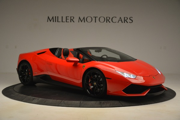 Used 2017 Lamborghini Huracan LP 610-4 Spyder for sale Sold at Alfa Romeo of Greenwich in Greenwich CT 06830 7