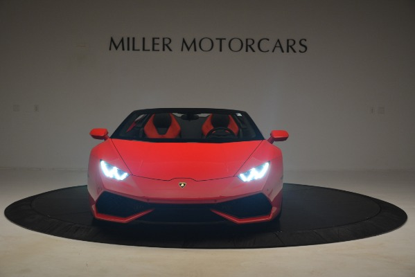 Used 2017 Lamborghini Huracan LP 610-4 Spyder for sale Sold at Alfa Romeo of Greenwich in Greenwich CT 06830 8