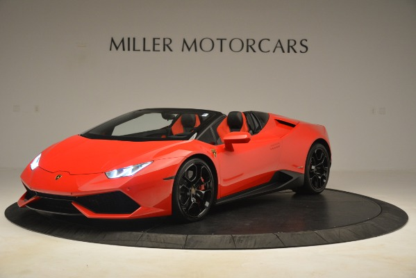 Used 2017 Lamborghini Huracan LP 610-4 Spyder for sale Sold at Alfa Romeo of Greenwich in Greenwich CT 06830 1