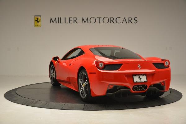 Used 2014 Ferrari 458 Italia for sale Sold at Alfa Romeo of Greenwich in Greenwich CT 06830 5