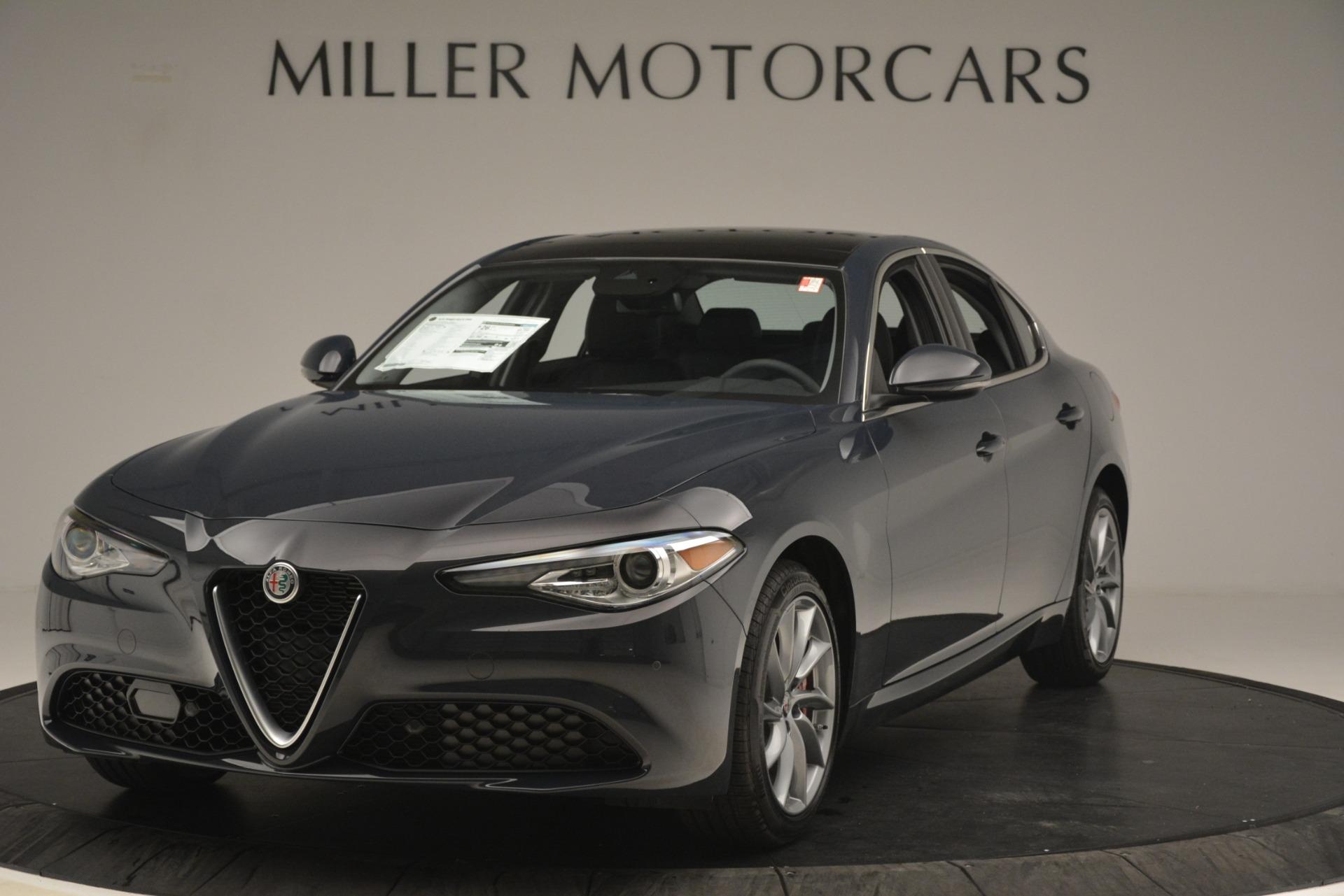 New 2019 Alfa Romeo Giulia Q4 for sale Sold at Alfa Romeo of Greenwich in Greenwich CT 06830 1