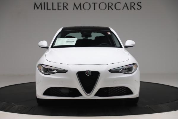 New 2019 Alfa Romeo Giulia Q4 for sale $46,390 at Alfa Romeo of Greenwich in Greenwich CT 06830 12