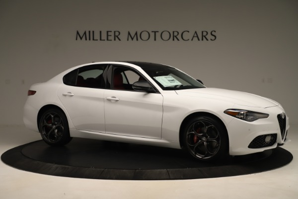 New 2019 Alfa Romeo Giulia Ti Sport Q4 for sale Sold at Alfa Romeo of Greenwich in Greenwich CT 06830 10