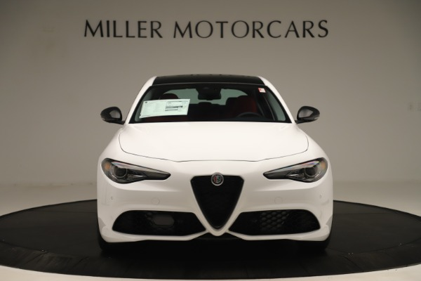 New 2019 Alfa Romeo Giulia Ti Sport Q4 for sale Sold at Alfa Romeo of Greenwich in Greenwich CT 06830 12