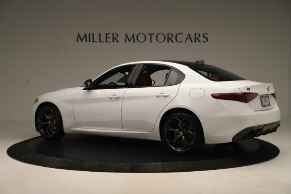 New 2019 Alfa Romeo Giulia Ti Sport Q4 for sale Sold at Alfa Romeo of Greenwich in Greenwich CT 06830 4