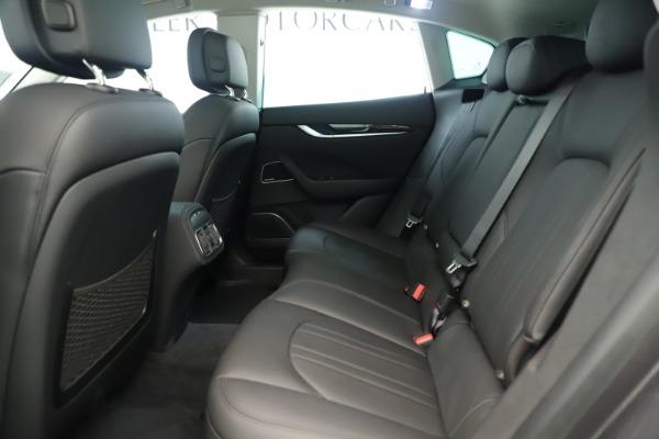New 2019 Maserati Levante Q4 Nerissimo for sale $89,850 at Alfa Romeo of Greenwich in Greenwich CT 06830 19