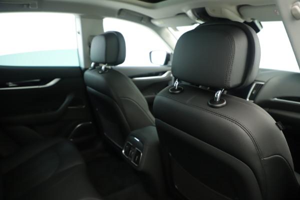 New 2019 Maserati Levante Q4 Nerissimo for sale $89,850 at Alfa Romeo of Greenwich in Greenwich CT 06830 28