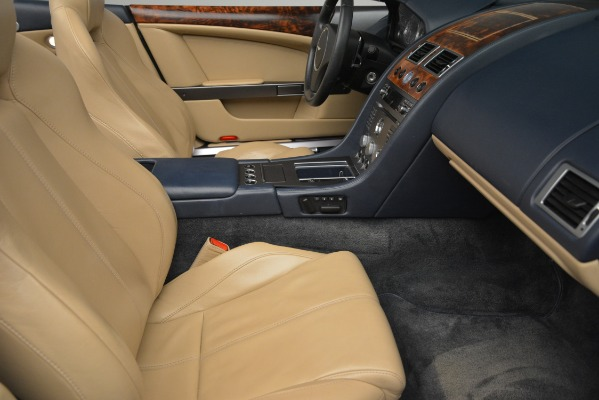 Used 2007 Aston Martin DB9 Convertible for sale Sold at Alfa Romeo of Greenwich in Greenwich CT 06830 20
