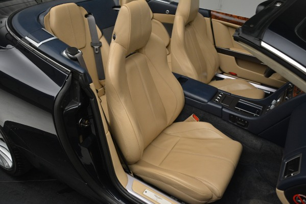Used 2007 Aston Martin DB9 Convertible for sale Sold at Alfa Romeo of Greenwich in Greenwich CT 06830 21