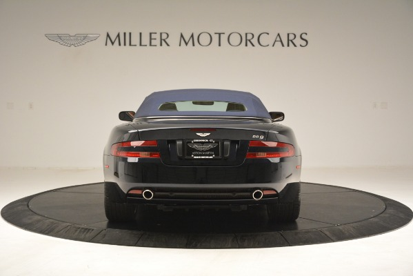 Used 2007 Aston Martin DB9 Convertible for sale Sold at Alfa Romeo of Greenwich in Greenwich CT 06830 27