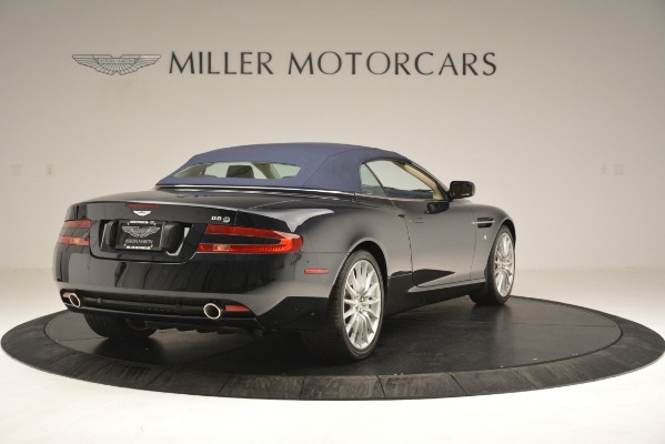 Used 2007 Aston Martin DB9 Convertible for sale Sold at Alfa Romeo of Greenwich in Greenwich CT 06830 28