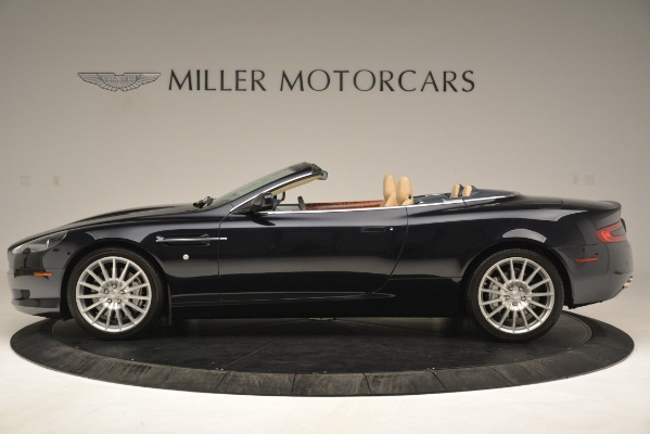 Used 2007 Aston Martin DB9 Convertible for sale Sold at Alfa Romeo of Greenwich in Greenwich CT 06830 3