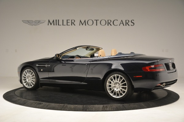 Used 2007 Aston Martin DB9 Convertible for sale Sold at Alfa Romeo of Greenwich in Greenwich CT 06830 4