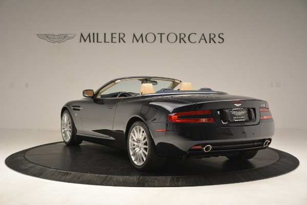 Used 2007 Aston Martin DB9 Convertible for sale Sold at Alfa Romeo of Greenwich in Greenwich CT 06830 5