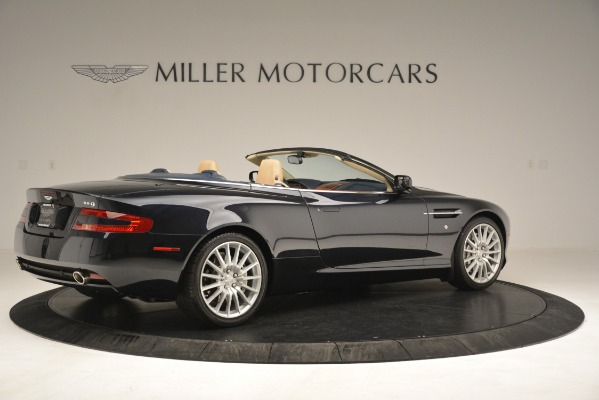 Used 2007 Aston Martin DB9 Convertible for sale Sold at Alfa Romeo of Greenwich in Greenwich CT 06830 8