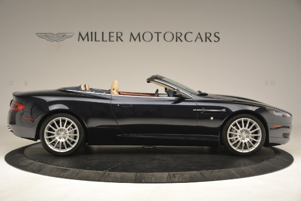 Used 2007 Aston Martin DB9 Convertible for sale Sold at Alfa Romeo of Greenwich in Greenwich CT 06830 9