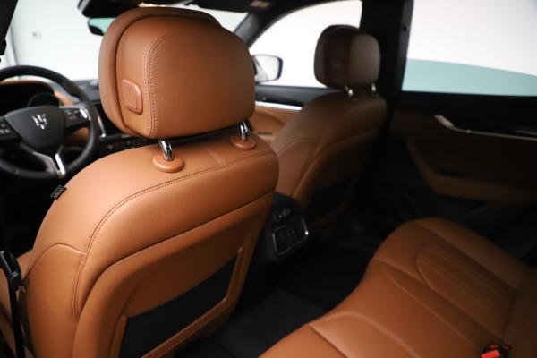 New 2019 Maserati Levante Q4 for sale $83,660 at Alfa Romeo of Greenwich in Greenwich CT 06830 20