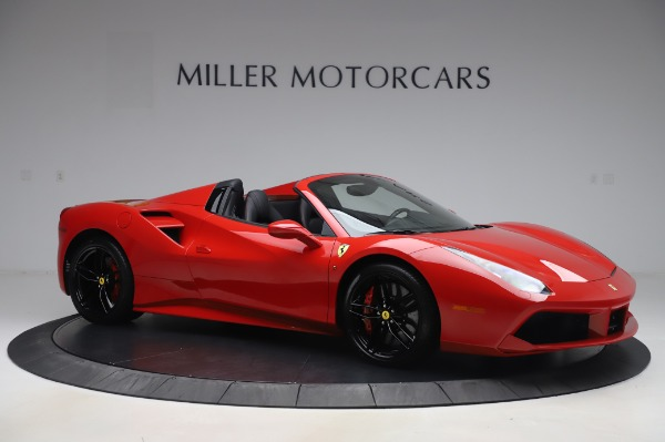 Used 2017 Ferrari 488 Spider for sale $275,900 at Alfa Romeo of Greenwich in Greenwich CT 06830 10