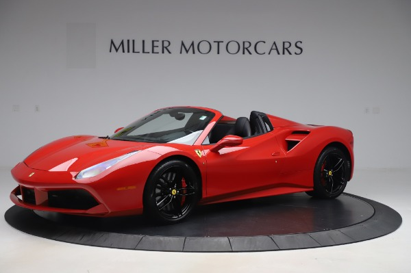 Used 2017 Ferrari 488 Spider for sale $275,900 at Alfa Romeo of Greenwich in Greenwich CT 06830 2