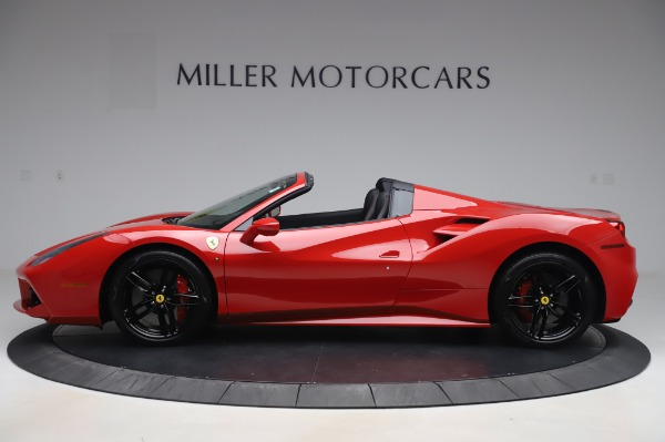 Used 2017 Ferrari 488 Spider for sale $275,900 at Alfa Romeo of Greenwich in Greenwich CT 06830 3