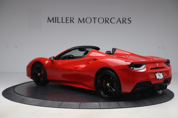 Used 2017 Ferrari 488 Spider for sale $275,900 at Alfa Romeo of Greenwich in Greenwich CT 06830 4