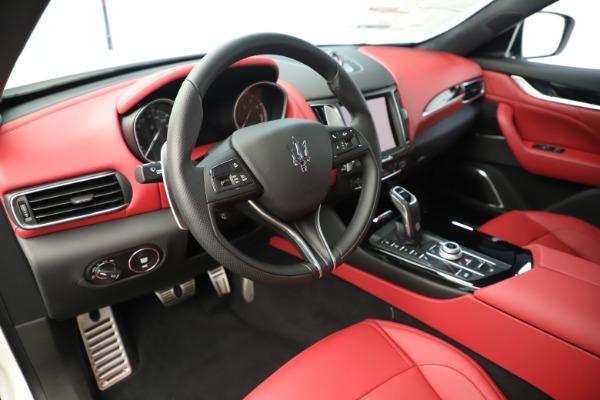 New 2019 Maserati Levante Q4 GranSport Nerissimo for sale Sold at Alfa Romeo of Greenwich in Greenwich CT 06830 13