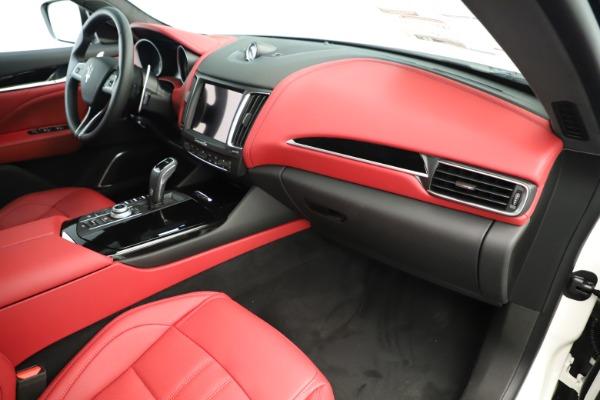 New 2019 Maserati Levante Q4 GranSport Nerissimo for sale Sold at Alfa Romeo of Greenwich in Greenwich CT 06830 22