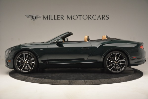New 2020 Bentley Continental GTC V8 for sale Sold at Alfa Romeo of Greenwich in Greenwich CT 06830 3