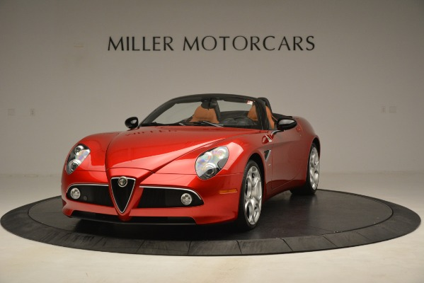 Used 2009 Alfa Romeo 8c Spider for sale Sold at Alfa Romeo of Greenwich in Greenwich CT 06830 1