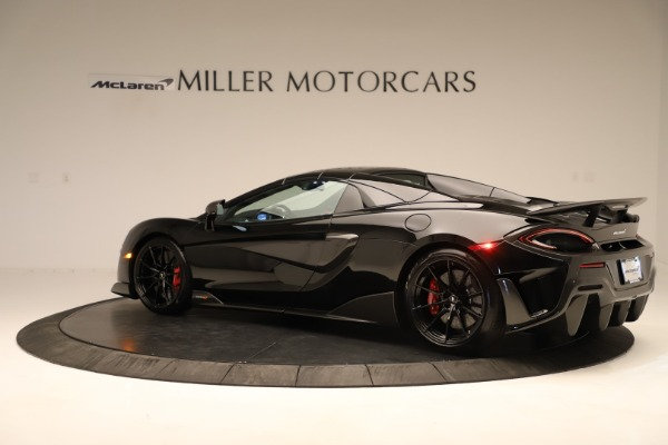 Used 2020 McLaren 600LT Spider for sale $249,900 at Alfa Romeo of Greenwich in Greenwich CT 06830 11