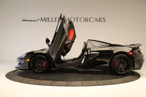 Used 2020 McLaren 600LT Spider for sale $249,900 at Alfa Romeo of Greenwich in Greenwich CT 06830 18
