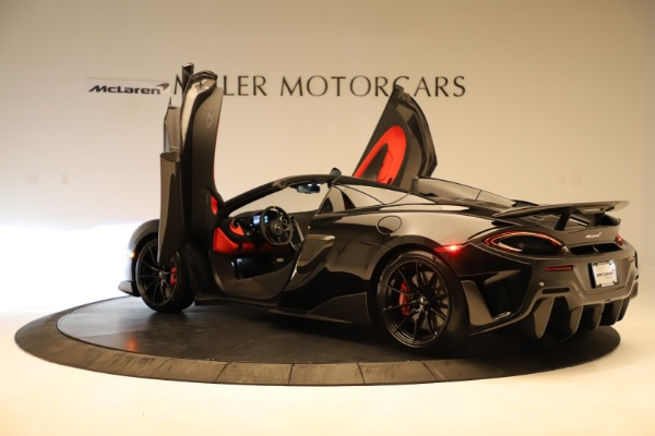 Used 2020 McLaren 600LT Spider for sale $249,900 at Alfa Romeo of Greenwich in Greenwich CT 06830 19